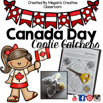 FREE Canada Day Cootie Catchers