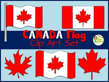 FREE Canada Flag Clip Art Set