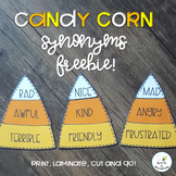 FREE Candy Corn Synonyms