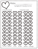 FREE Candy Hearts Graph - Valentine's Math Activity