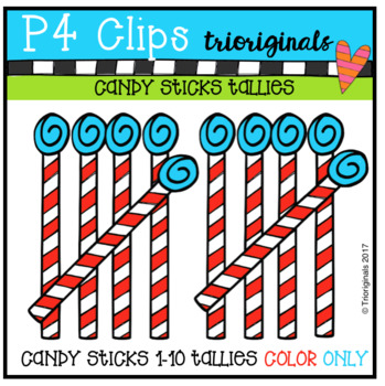FREE Candy Stick Tallies (COLOR ONLY)