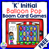 FREE Carnival K Articulation Boom Card Games for Speech Therapy