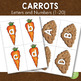 FREE Carrots Letters and Number Cards