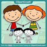 Royalty Free Cartoon Boy & Girl Clipart Characters - Enjoy!