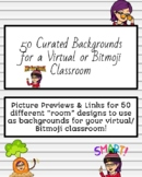 FREE Catalogue of 50+ Virtual Classroom Backgrounds