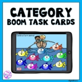 Categories Speech Therapy Activity Boom Cards for Distance