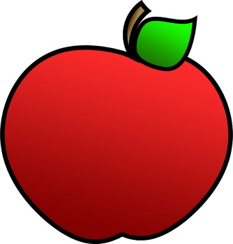 FREE Caterpillar & Apple Clipart {From Sketch to School}