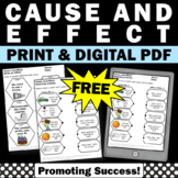 FREE Cause and Effect Activities for First Grade Second Grade Special Education