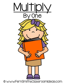 FREE Multiplication Quick and Easy to Prep Center Game for Multiply By One