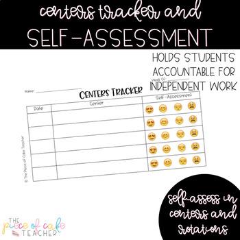 FREE Center Tracker - Self-Assessment Tool