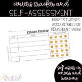 Center Tracker - Self-Assessment Tool FREEBIE