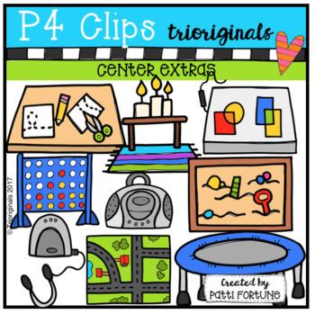 FREE Centre Extras (P4 Clips Trioriginals Clip Art)