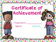 Awards Certificates Freebie End of Year Awards