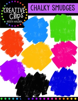 FREE Chalky Smudges {Creative Clips Digital Clipart}