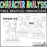 FREE Character Analysis Graphic Organizers