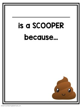 "FREE Character Education Posters & Notes Home for ""The Dog Poop Initiative"" Book"