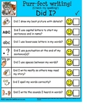 FREE Checklist for Young Writers {Autism, Special Education, Kindergarten}