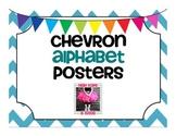 FREE Chevron Alphabet Posters!