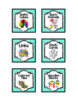 Classroom Labels - FREE