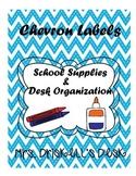 FREE Chevron Classroom Lables