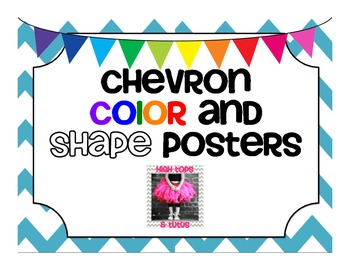 FREE Chevron Color and Shape Posters!