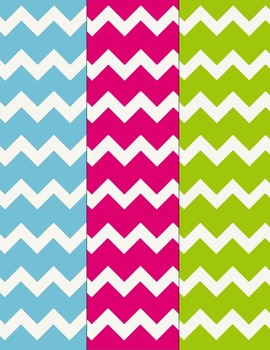 Chevron Papers FREEBIE Clip Art ~ CU OK ~ 8.5 x 11