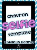 "FREE Chevron ""Selfie"" for self portraits"