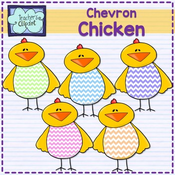 FREE Chevron chicken clip art