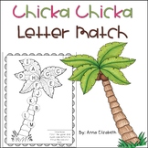 FREE Chicka Chicka Boom Boom Letter Match Activity