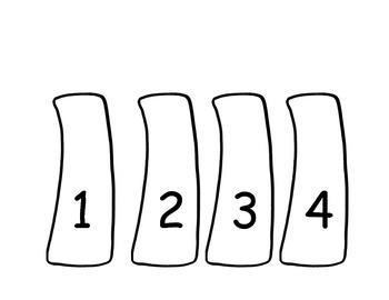 Chicka Chicka Boom Boom / 1, 2, 3 Counting & Number Recognition #1-10