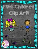 FREE Children Clip Art! {Spoonful of Confetti and Creativity Clip Art}