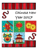 FREE Chinese New Year 2017 - Color By Numbers