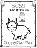 FREE Chinese New Year 2020 Coloring Sheets