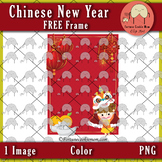 FREE Chinese New Year Frame