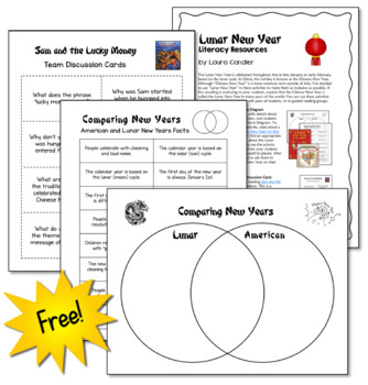 FREE Chinese New Year | Lunar New Year | Literacy Activities