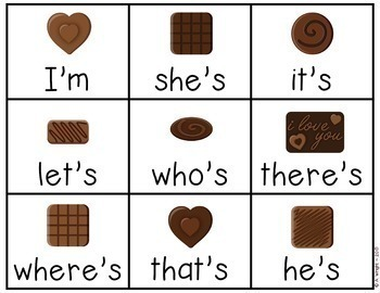 FREE Chocolate-Covered Contractions Game