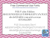 FREE Chocolate-Inspired Fonts for Personal and Commercial Use (CU)