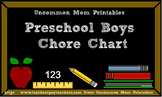 Chore Chart for Preschool Boys