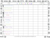 FREE Chore Charts and Fill in the Blank Charts