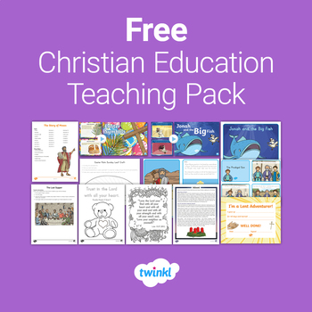 FREE Christian Education Teaching Pack