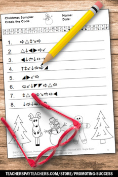 Christmas Vocabulary Worksheets, Christmas Freebie, Literacy Center Activities