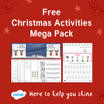 FREE Christmas Activities Mega Pack
