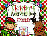 FREE Christmas Activity Book