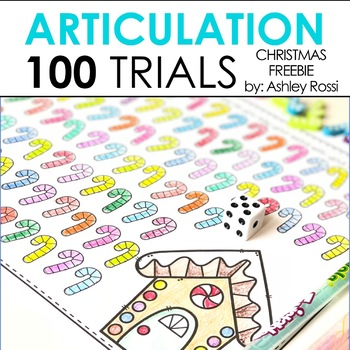 FREE Christmas Articulation For 100 Trials