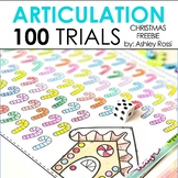 100 Articulation & Apraxia Trials: CHRISTMAS