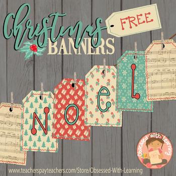 FREE Christmas Banners