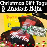 FREE Christmas Book Gift Tag for Student Gifts