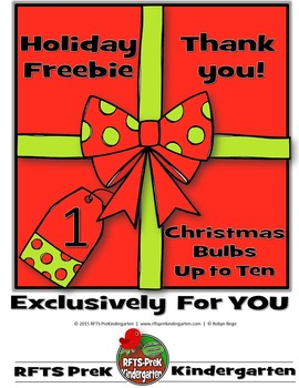 FREE Christmas [Up To Ten Frame] Fun