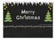 FREE Christmas Chalkboard Card