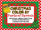 {FREE} Christmas Color By Parts of Speech